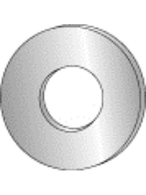 Minerallac 40310J #8 Zinc Plated Steel Flat Cut Washer