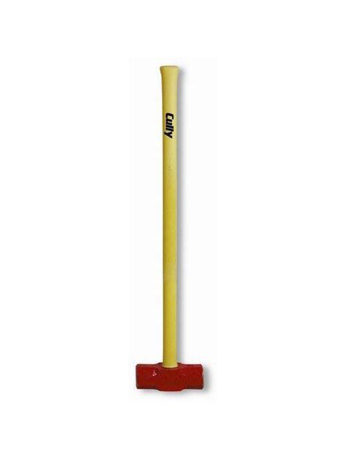 Minerallac 37275 #8 36 Inch Yellow Fiberglass Handle Sledge Hammer