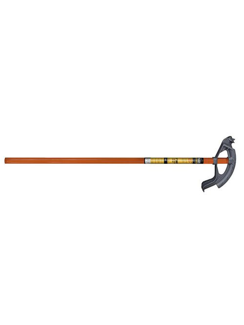 Klein 56205 1 Inch EMT 3/4 Inch Rigid/EMC Assembled Iron Bender with Orange Steel Handle
