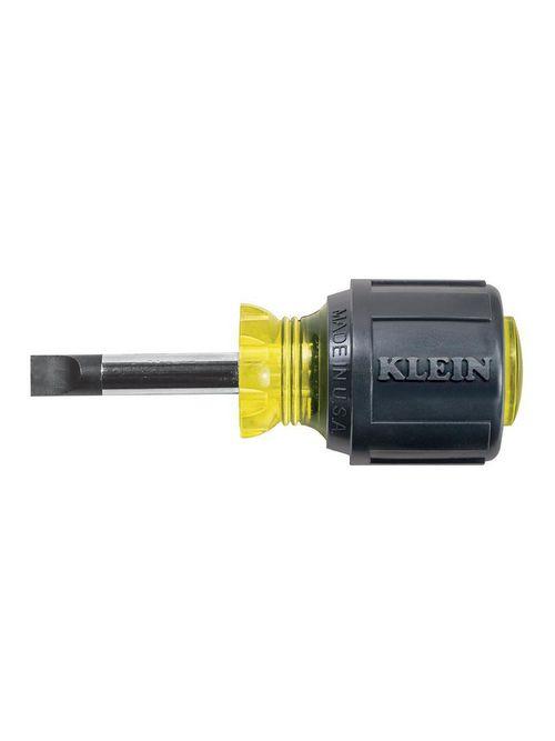 Klein 600-1 1/4 Inch Keystone Tip 1-1/2 Inch Heavy Duty Round-Shank Screwdriver