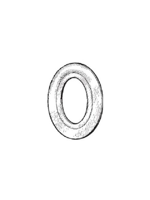 Mulberry 40040 3-1/2 x 3 Inch Galvanized Steel Reducing Washer