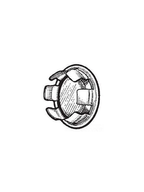 Mulberry 40111 1/2 Inch Bright Zinc Plated Steel Closed Knockout Seal