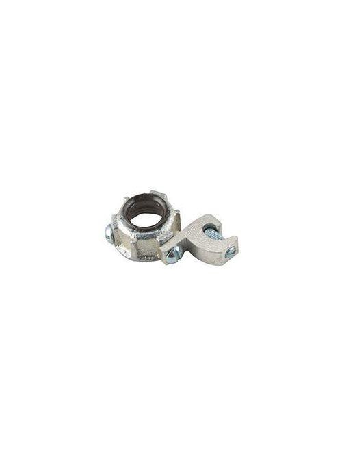 Raco 1290 7 2-1/2 Inch Malleable Iron 105 Degrees C Insulated Threaded Rigid/IMC Bushing
