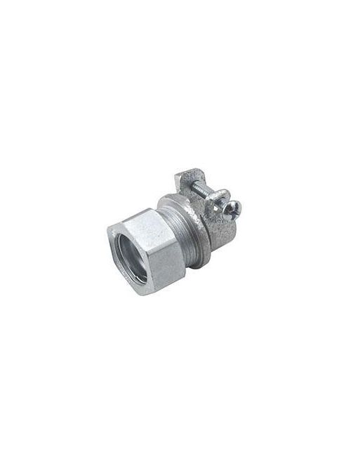 Raco 1942 1/2 Inch Steel Compression EMT to FMC Combination Coupling
