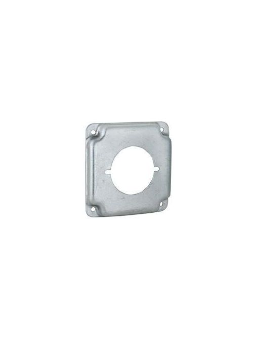 Raco 810C 4 Inch 1/2 Inch Raised 5.5 In Steel Square Surface Cover