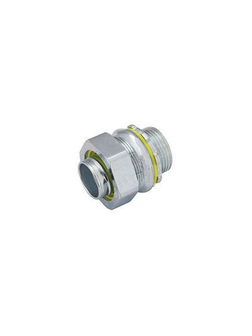 Raco 3410 2-1/2 Inch Malleable Iron Non-Insulated Straight Liquidtight Conduit Connector