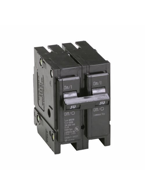 Eaton Electrical BR230 1 Inch Type BR Plug-On Circuit Breaker