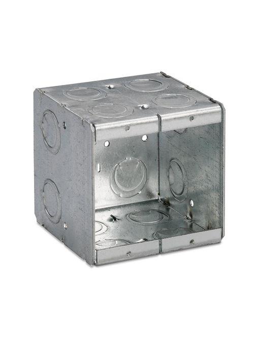 Steel City 2-MB 2-Gang 3-1/2 Inch Deep Masonry Box
