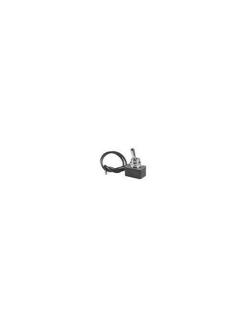 Toggle Switch, SPST, ON-OFF, 10 Amp 125V