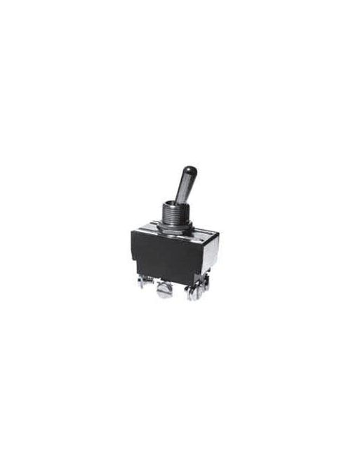 Selecta Products SS208R-BG 125 VAC 20 Amp DPDT 2-Pole Maintained Toggle Switch