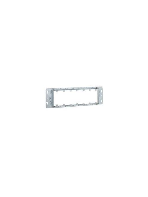 RACO 826 16-1/8 Inch 3/4 Inch Raised 35.5 In Pre-Galvanized Steel 7-Gang Mud Ring Gang Box Cover