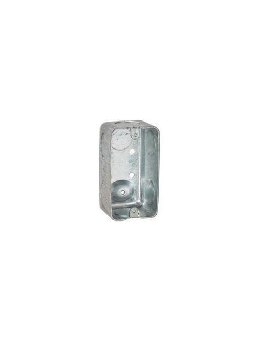 Raco 663 4 x 2-1/8 x 1-7/8 Inch 13cu.in Steel Utility Box