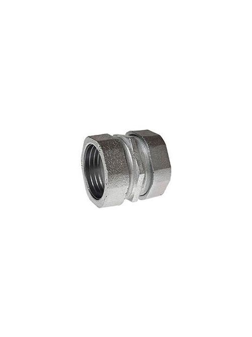 RACO 1832 3 Inch Zinc Electroplated Steel/Malleable Iron Compression Rigid/IMC Coupling