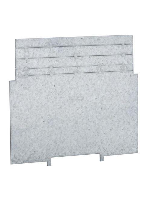 RACO 707RAC 4 x 4 x 2-1/8 Inch Pre-Galvanized Steel Square Box Low Voltage Partition