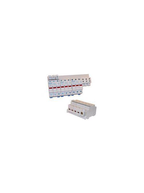 Ferraz Shawmut USBB1PH25K4 4-Pole 25 square mm 600 VAC/1000 VDC 1-Phase Busbar