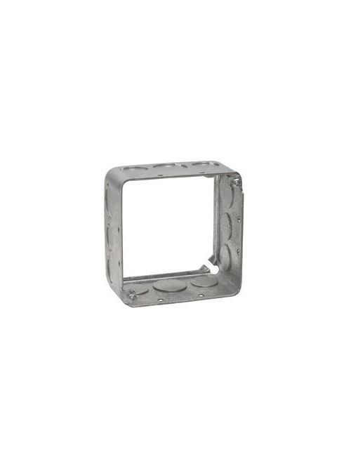 Crouse-Hinds Series TP422 4 x 4 x 1-1/2 Inch Steel Square Box Extension Ring