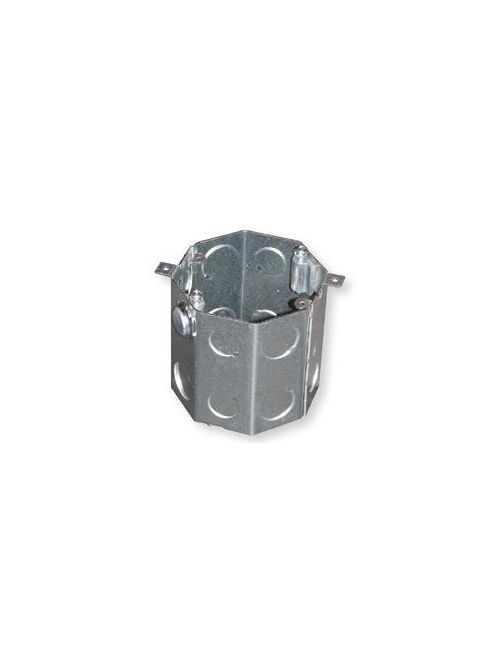 Crouse-Hinds Series TP636 4 x 3-1/2 Inch Steel Octagon Concrete Box