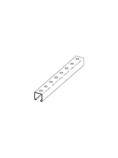 Eaton B-Line B22H178GALV10 1-5/8 x 1-5/8 Inch 12 Gauge Channel