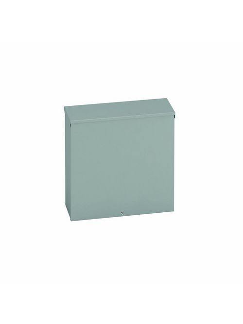 B-Line Series 644 RTSC NK 4 x 4 x 6 Inch 16 Gauge Painted Steel NEMA 3R Screw Cover Junction Box Enclosure
