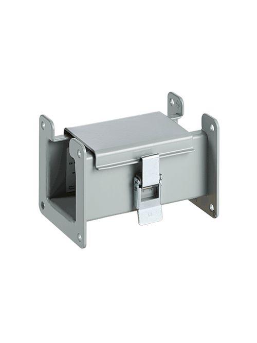 Hoffman F66L06 6 x 6 x 6 Inch NEMA 12 Gray Steel Lay-In Wireway Straight Section