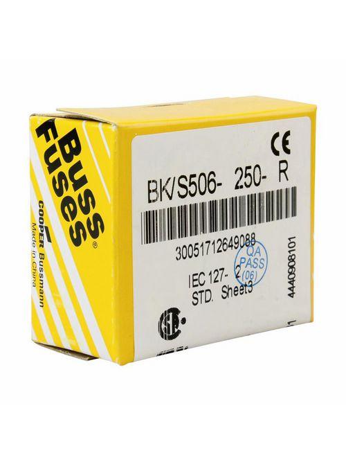 Bussmann Series S506-2.5-R 2.5 Amp Fuse