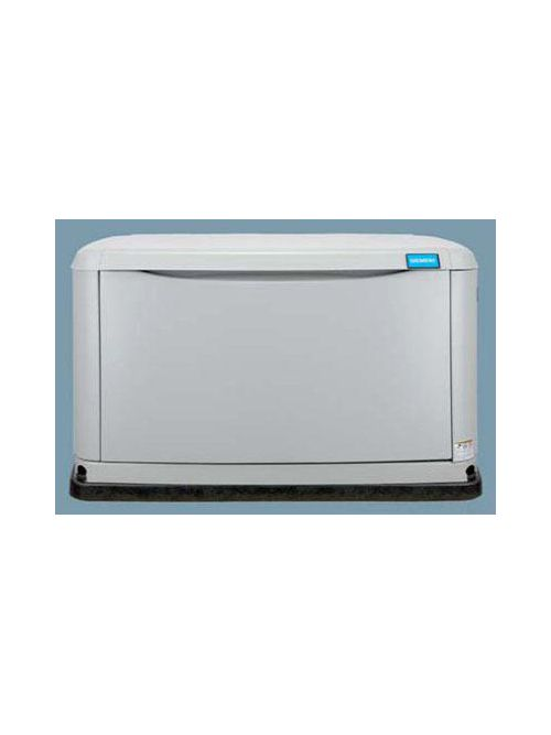 Siemens Industry ASGN008RBS 7/8 kW 120/240 VAC 22.2/33.3 Amp 1-Phase Steel Natural/Liquid Propane Gas Air Cooled Generator