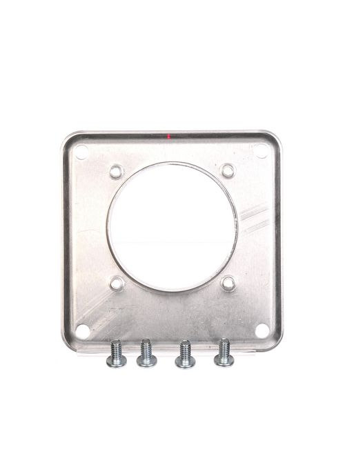 Siemens Industry H9747-1112 Aluminum Large to Small Meter Socket Hub Adapter Cover Plate