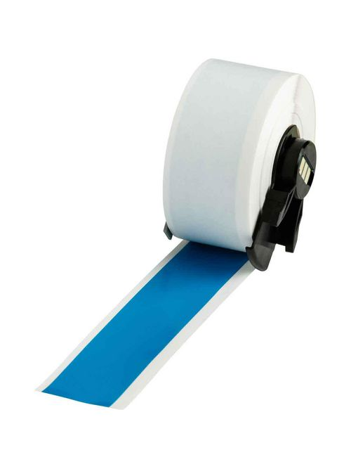Brady PTL-42-439-BL 50 Foot Roll 1 x 50 Foot 25.40 mm x 15.24 m Vinyl Label Roll