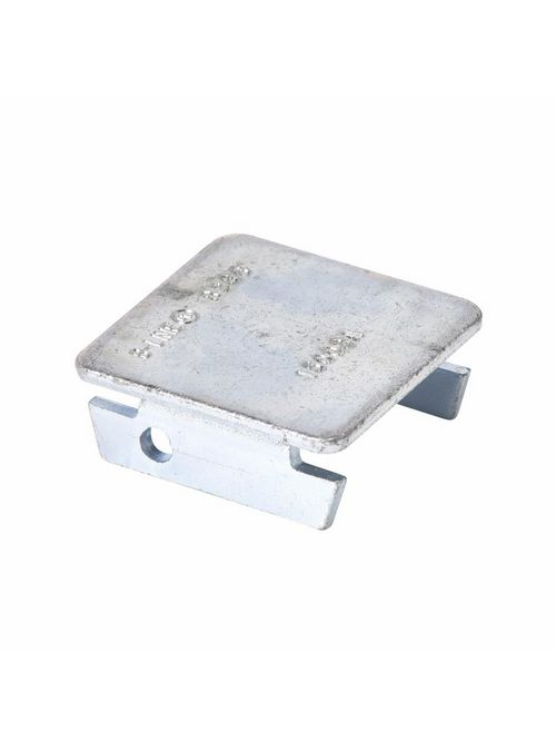 B-LINE B286GRN CHANNEL END CAP, FOR