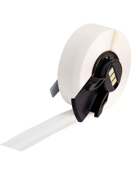 Brady PTLTB-498-240 0.24 Inch x 30 Foot Vinyl Cloth White Semi-Gloss Terminal Block Label Roll