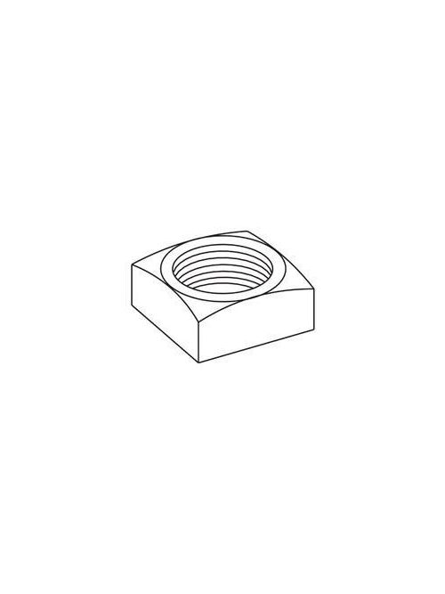 B-LINE NUT,SQ-5/8-ZN SQUARE NUT, 5/