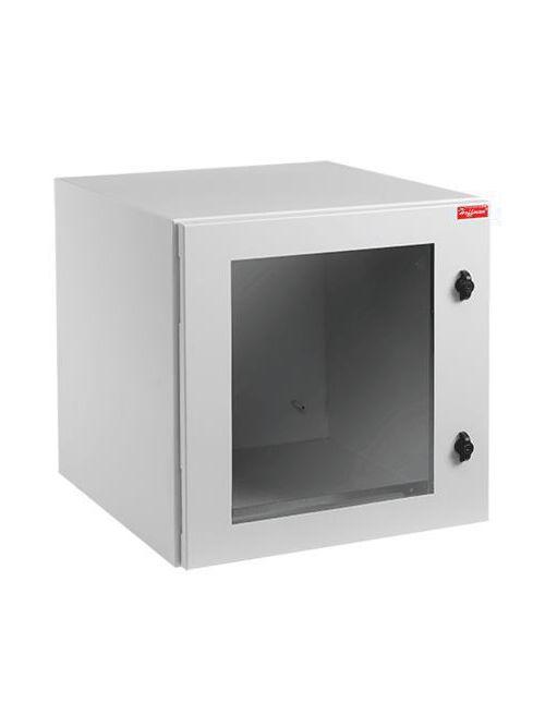 Hoffman PTRW242412G2 24 x 24 x 12 Inch Steel NEMA 4/12 Window Door Wall Mount Cabinet