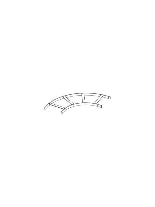 B-Line Series SB17HRB24FB 1-1/2 x 24 Inch Flat Black Steel 90 Degrees Horizontal Cable Runway Stringer