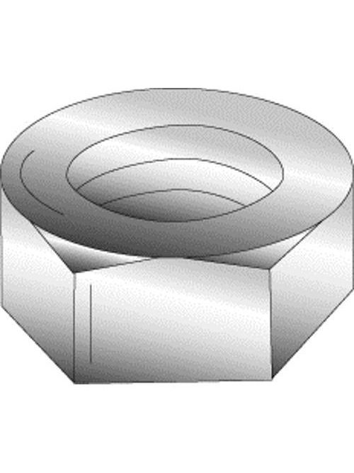 Minerallac 40137 7/16 Inch 14 TPI Zinc Plated Hex Nut