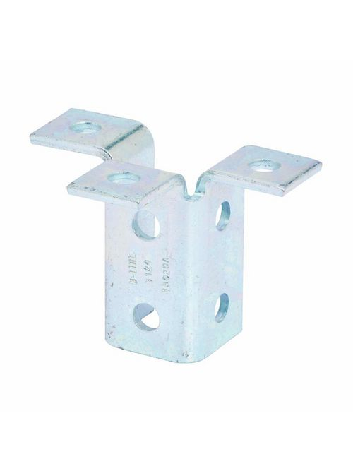 B-Line Series B124ZN 9-Hole Zinc Plated Triple Wing Connection