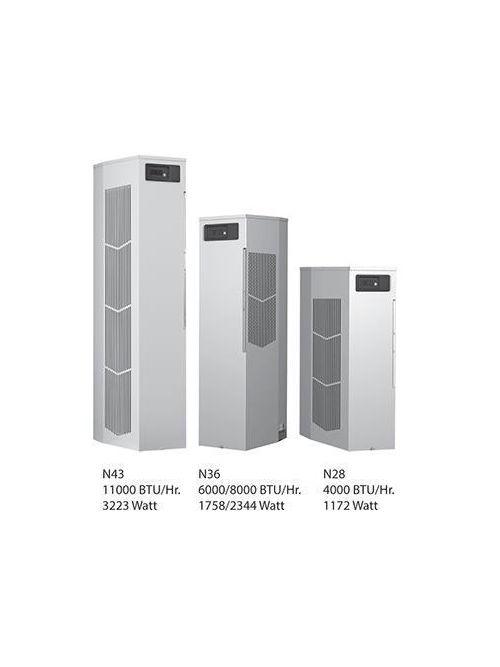 Hoffman N360816G100 8000 BTU/HR 115 Volt Sealed Enclosure Cooling Air Conditioner