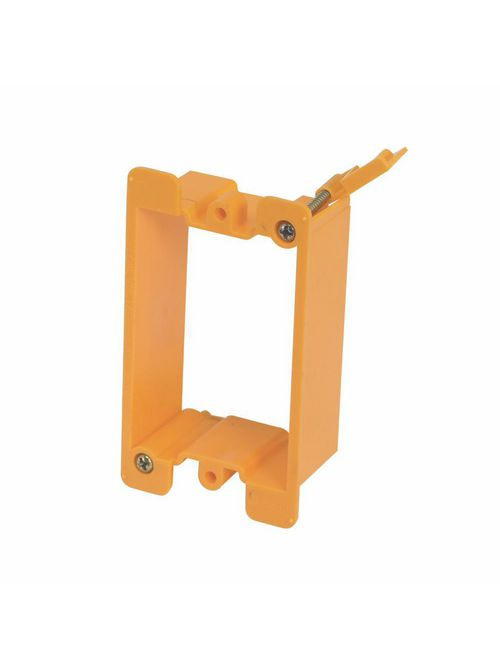B-Line Series BB10P Plastic Cover Plate Single-Gang Mounting Bracket