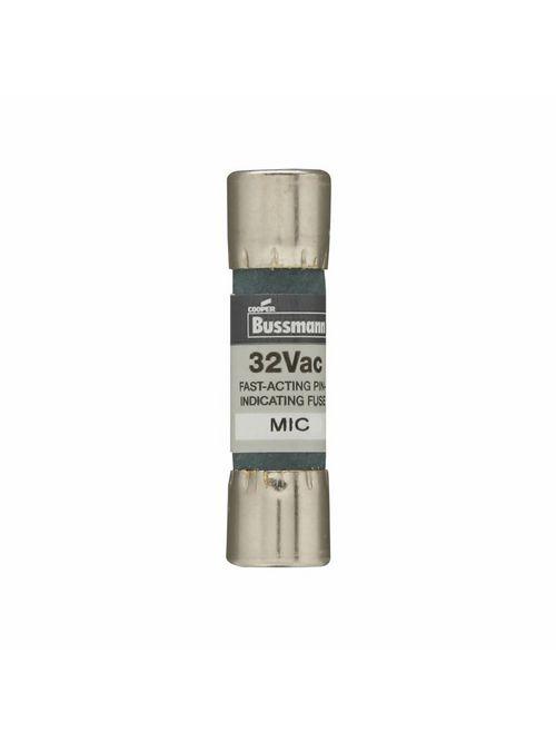 Bussmann Series MIC-15 15 Amp 250 VAC Midget Pin Indicating Fuse