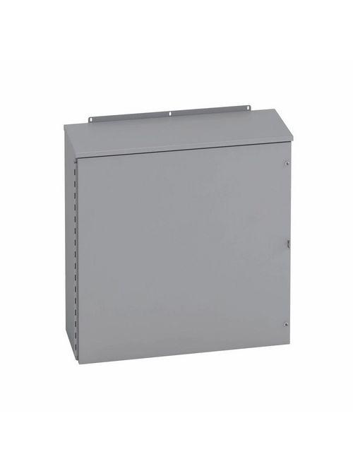 B-Line Series 363612 RHC 36 x 12 x 36 Inch 14 Gauge Galvanized Steel NEMA 3R Hinged Cover Enclosure