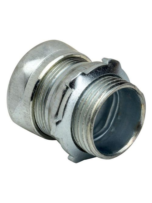 Topaz Corp 657S 2-1/2 Inch Steel Compression EMT Connector