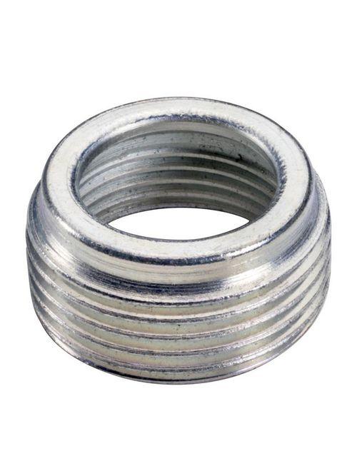 Topaz Corp RB9 1-1/2 x 3/4 Inch Zinc Plated Steel Rigid/IMC Reducing Bushing