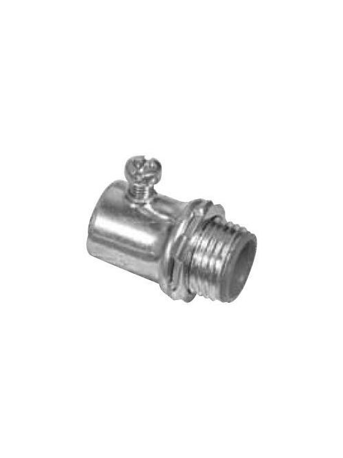 Topaz Corp 632SI 3/4 Inch Steel Insulated Set Screw EMT Connector