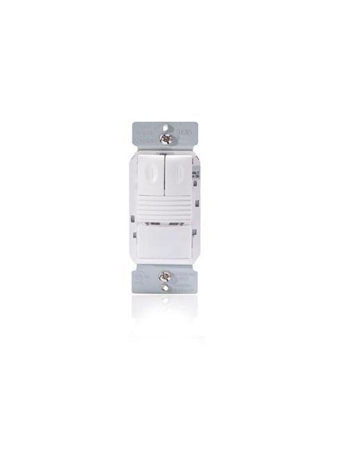 Wattstopper PW-302-I 4.1 x 1.58 x 1.39 Inch 120/277 VAC Ivory Passive Infrared Wall Switch Occupancy Sensor