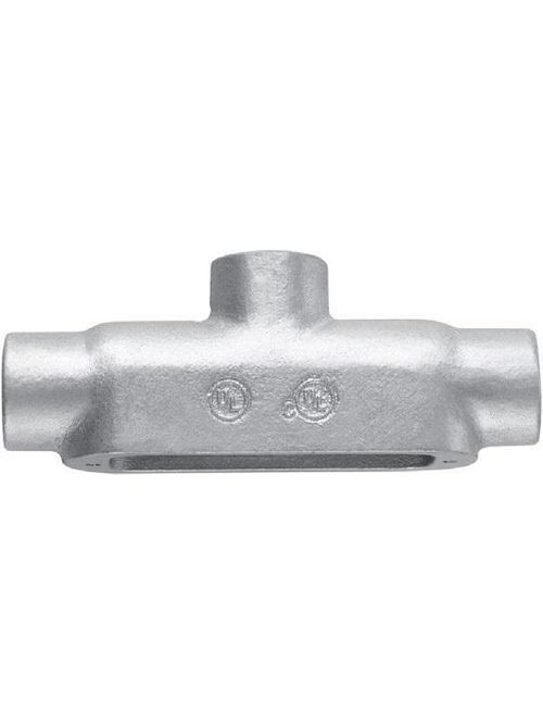 Crouse-Hinds Series TB50M 1/2 Inch Malleable Iron Form5 Type TB Threaded Rigid Conduit Body