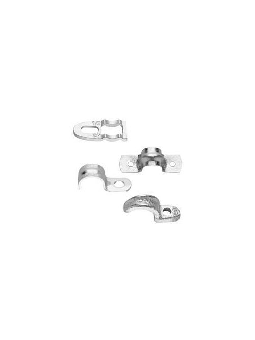 Crouse-Hinds Series 496 10 3 Inch Galvanized Steel 2-Hole EMT Conduit Strap