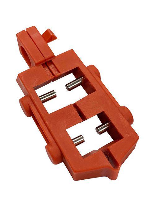 Brady 65387 120 Volt Snap-On Single Pole Breaker Lockout