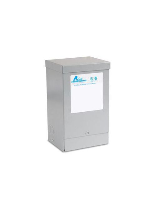 Actuant T253012S 1 Phase 60 Hz 240 x 480 Primary Volt 120-240 Secondary Volt Four Windings Transformer