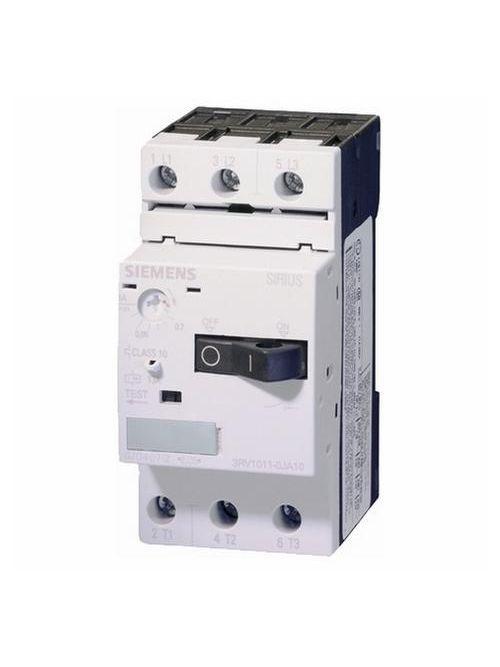 Siemens Industry 3RV1011-1KA10 3-Pole 12 Amp 690 VAC 3-Phase Screw Terminal Thermal Magnetic Motor Starter Protector