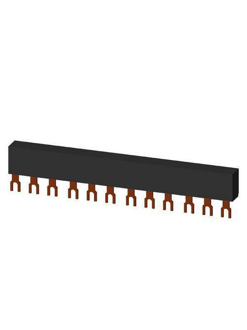 Siemens Industry 3RV1915-1CB 63 Amp 690 Volt 3-Phase 45 mm Spacing Line Side Feeder Circuit Breaker Busbar