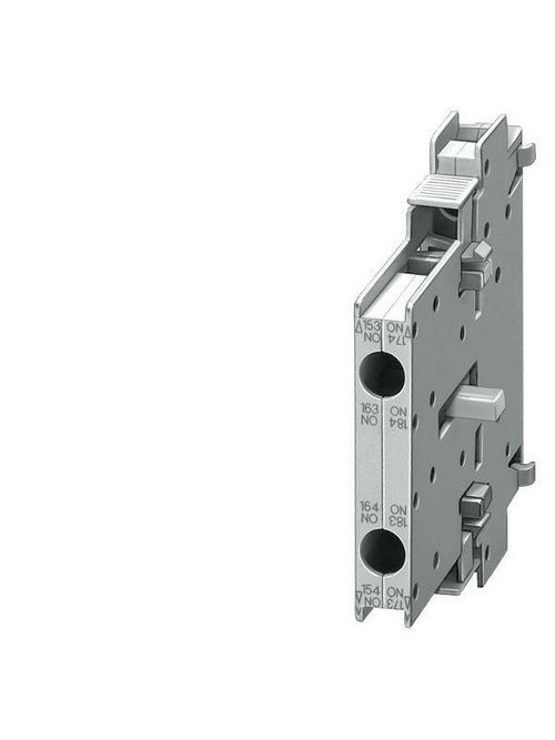 Siemens Industry 3RH1921-1KA11 230 Volt 6 Amp 2-Pole 1NO 1NC Screw Terminal Contactor Auxiliary Switch Block